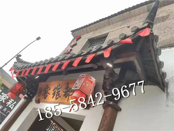 无锡火锅店古建厂家