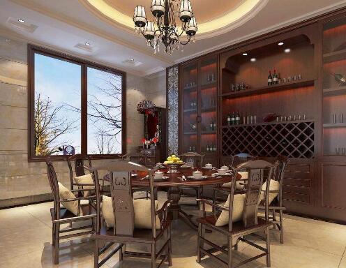 中式餐厅装修,中式餐厅装修厂家