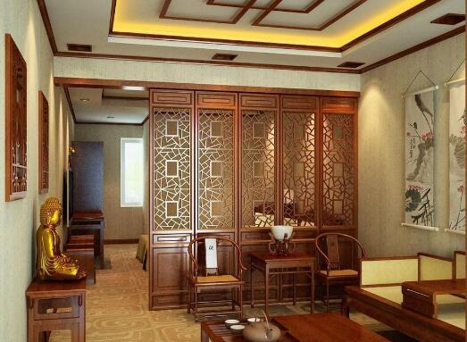 浙江中式餐厅装修